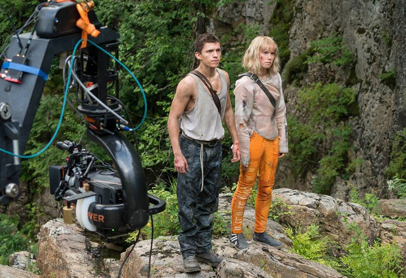 a still from the upcoming movie Chaos Walking